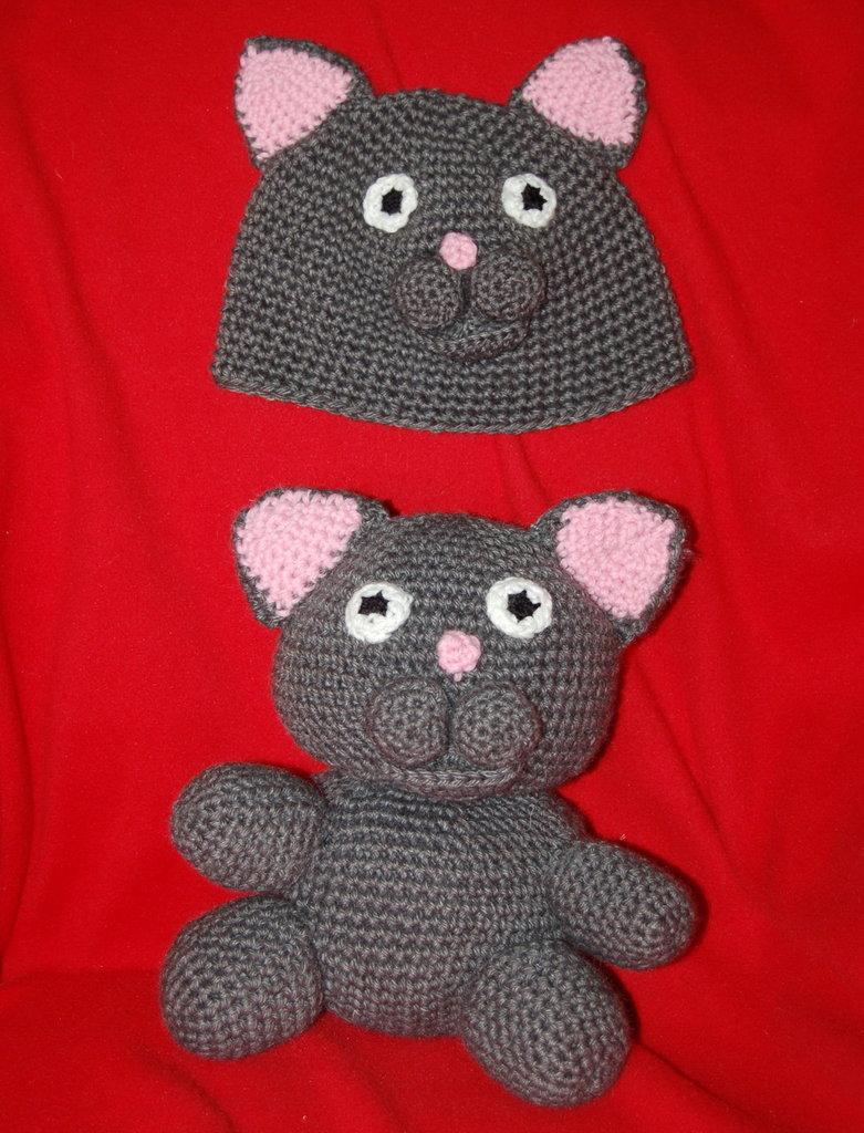 amigurumi Bombolo e cappellino per bambina