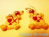 X Skulls Earrings