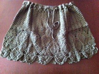 Faldas artesanales en crochet
