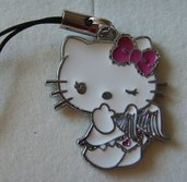 Phone strap Ciondolo per cellulare Hello Kitty Angel #12