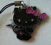 Phone strap Ciondolo per cellulare Hello Kitty Devil #13