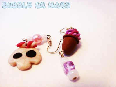 Skull Cup Earrings