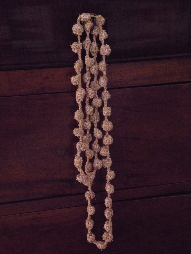 Collana cotone
