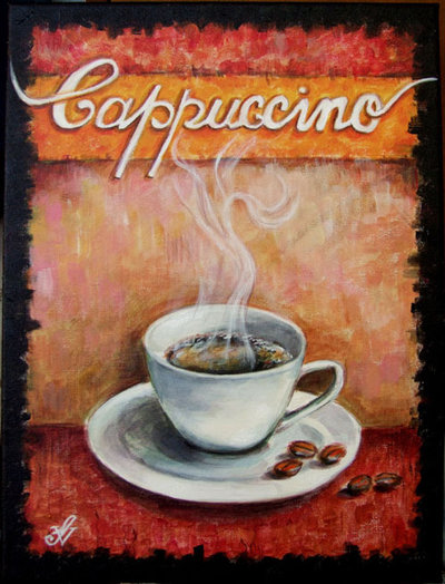 """Quadro """"Cappuccino"""""""