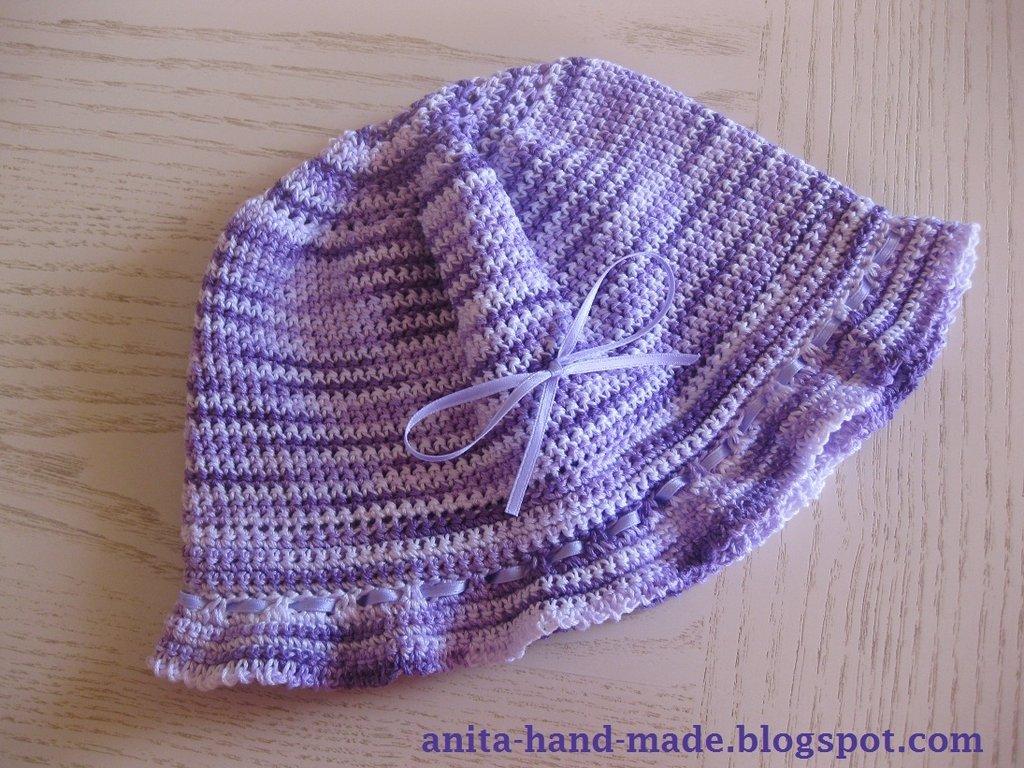 Cappellino bimba in cotone