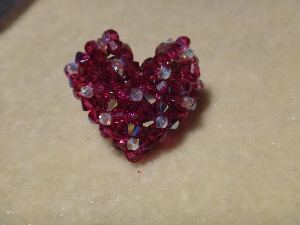 Anello cuore Swarovski