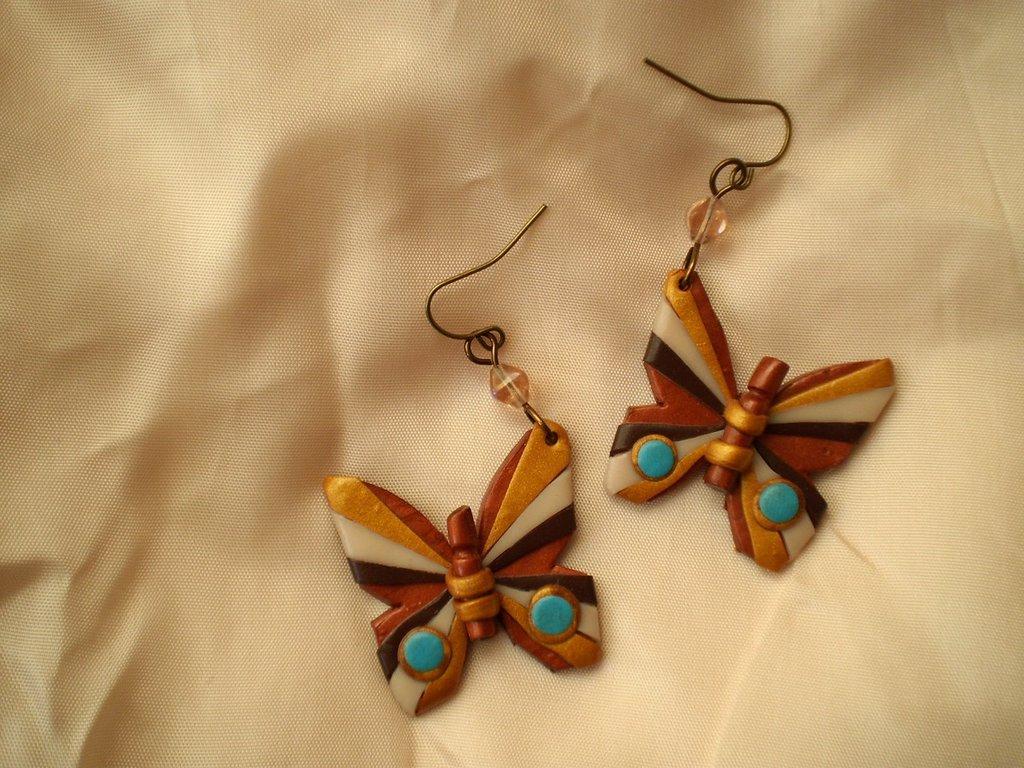 Orecchini Butterfly