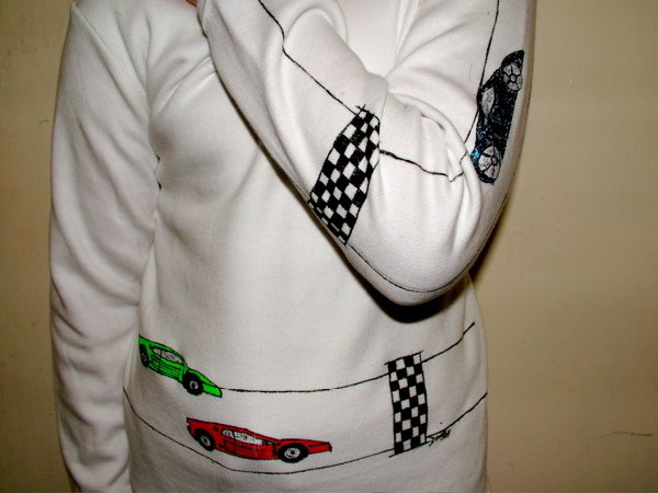 Boys T-Shirt - Racing Cars