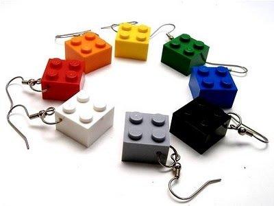 Aretes LEGO