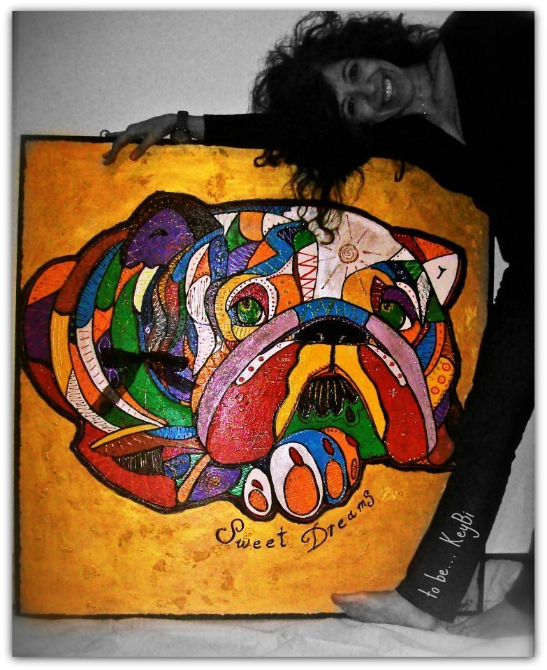 quadro multicolor