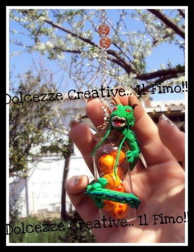 ★★SALDI Dragonball drago SHENLONG con le sette 7 sfere