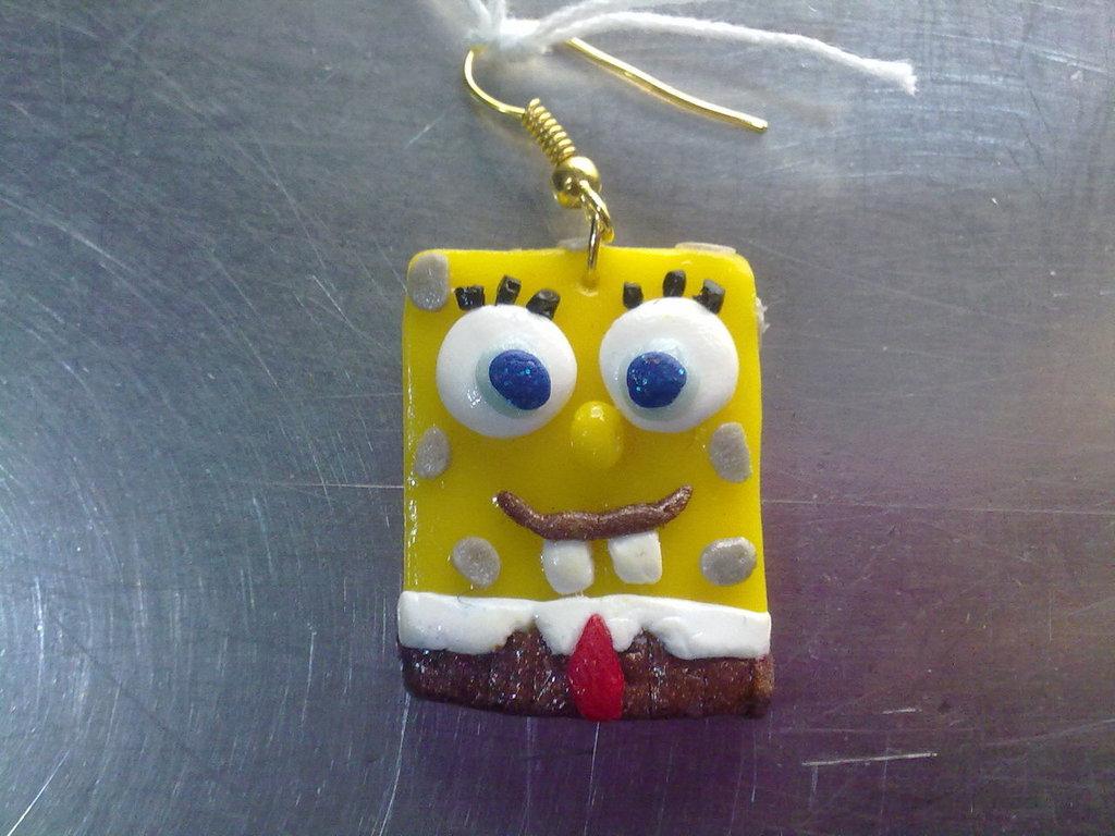 orecchini spongebob