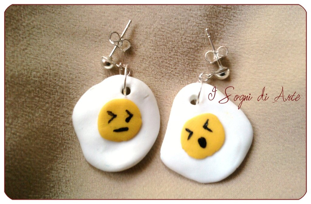 Egg earrings - Orecchini