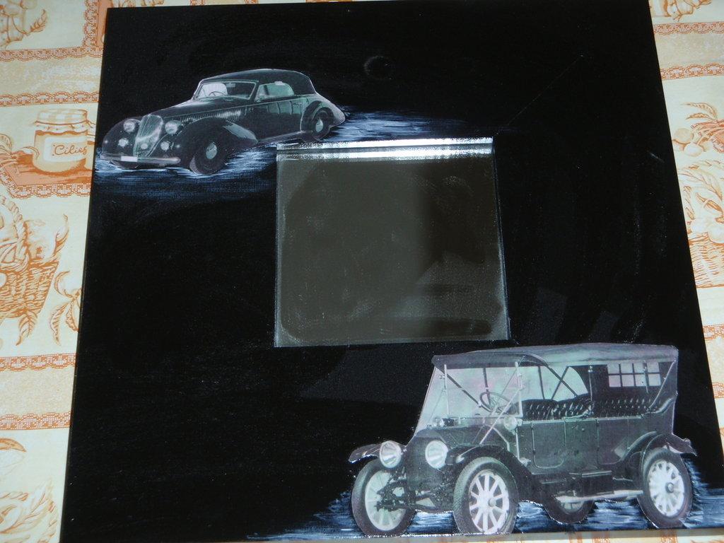 specchio auto d'epoca