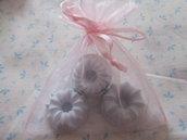 Gessi a forma di dolcetto per bomboniera
