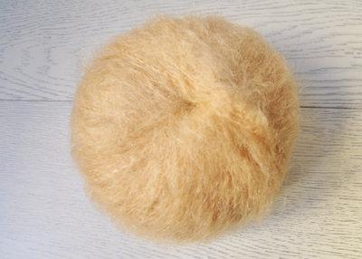 Lana Mohair per capelli delle bambole - biondo cenere
