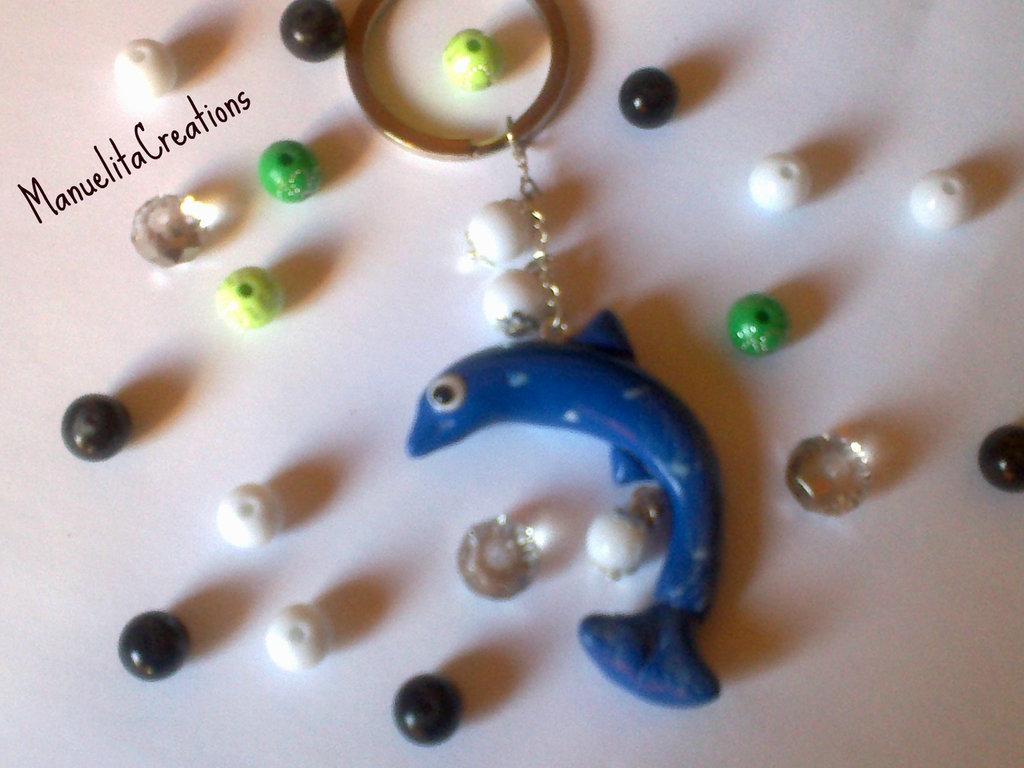 Portachiavi Delfino blu