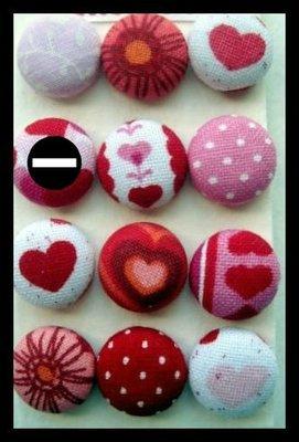 Orecchini bottone romantici