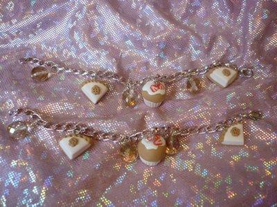 1 bracciale dolcetti rosa