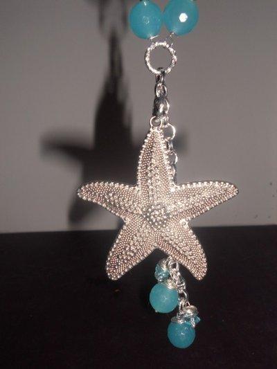 Collana con stella marina