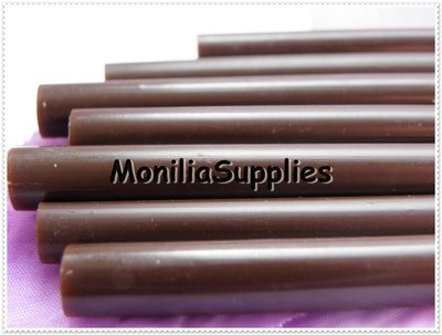 COLLA A CALDO IN STICK DIAM.7mm COLOR CIOCCOLATA KAWAII