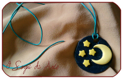 Glow Night necklace - Collana