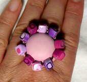 anello -pretty in pink-