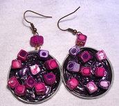 orecchini -pretty in pink-