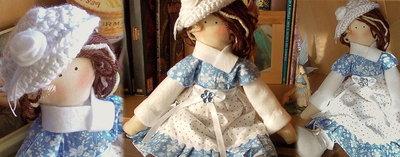 Bambola in stoffa Belinda