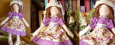 Bambola in stoffa Melissa