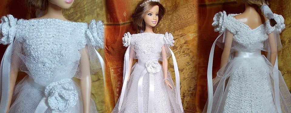 Fashion Doll uncinetto Julia
