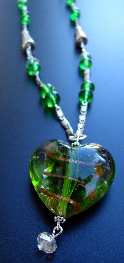 cuore in vetro