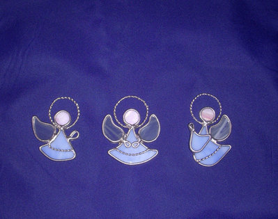 tre Angeli in vetro
