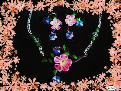 parure fiori di ciliegio