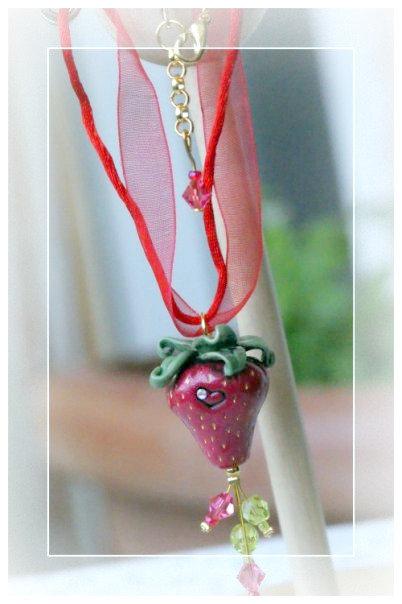 """Collana """"Strawberry"""" *"""
