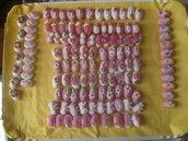 30 Confetti decorati