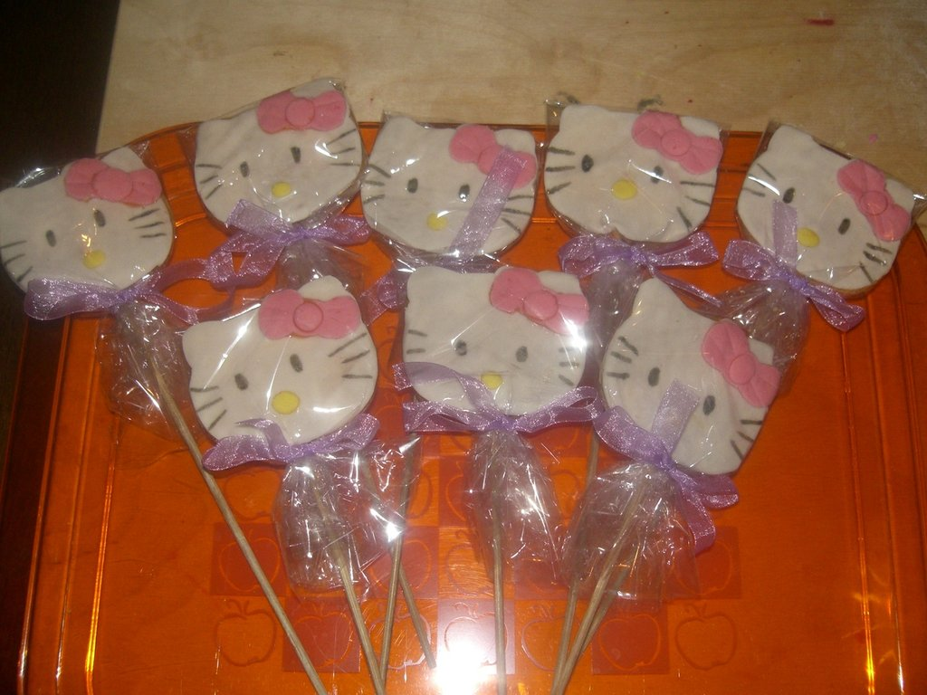 10 Biscotti Hello Kitty