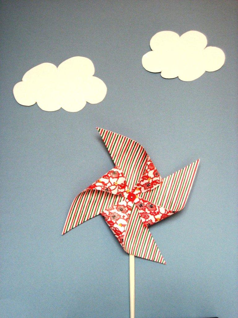 Girandole origami