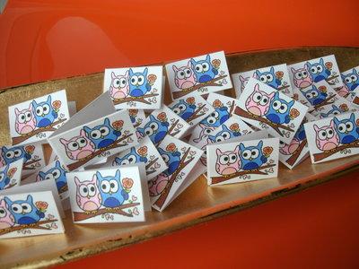 Bigliettini bomboniera confetti set 10 pezzi