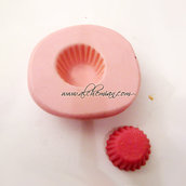 Stampo base muffin cupcake pasticcino da 1.5 cm--Codice: 025.001.239