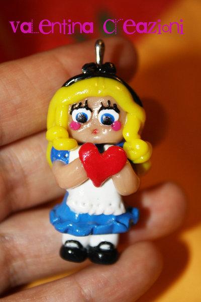 Ciondolo Alice in Wonderland