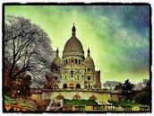 Paris, Montmartre, Sacre Coeur