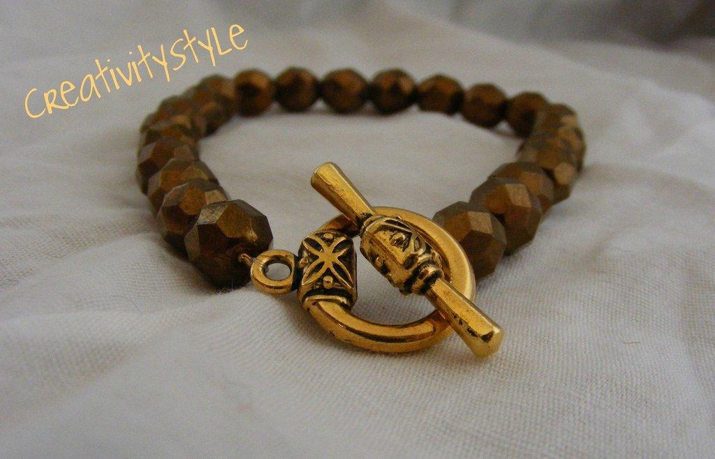 bracciale swarovsky oro