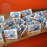 Bigliettini bomboniera gufetti confetti per matrimonio, comunione, battesimo e altre occasioni realizzati a mano