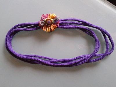 Collana di lana
