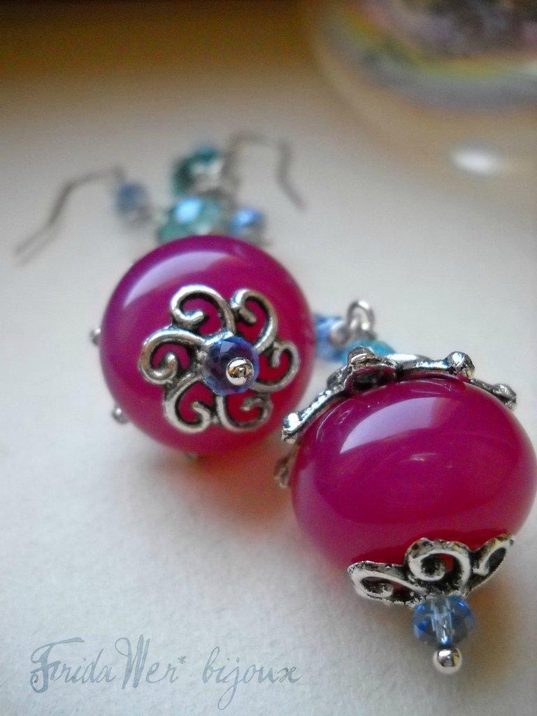 Orecchini Hot Pink!