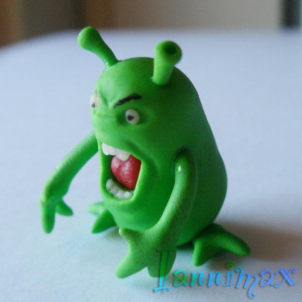 Alieno arrabbiato