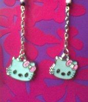 Orecchini Hello Kitty argento 925