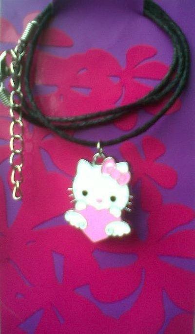 Collana Hello Kitty colore nero