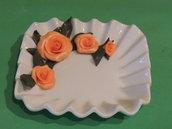 piattino decorato svuotatasche